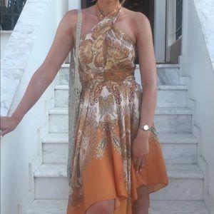 H&M paisley dress